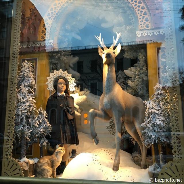 новогодние витрины длт 2016