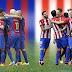 متابعة مباراة برشلونة وأتلتيكو مدريد مباشرة وبالصور