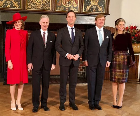 Minister President Mark Rutte and members of the Dutch Government