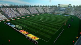Estadio Malvinas Argentinas Formato GDB - Godoy Cruz-Mendoza Pes 2013