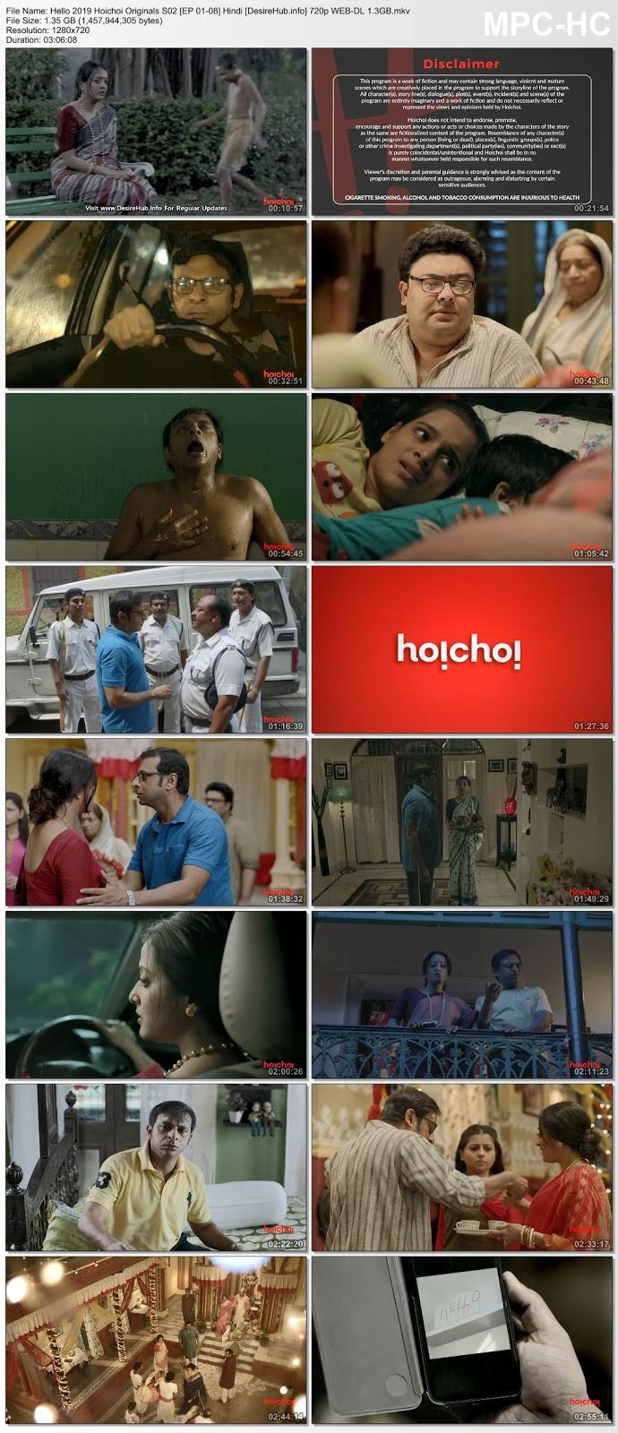 Hello 2019 Hoichoi Originals S02 [EP 01-08] Hindi 720p WEB-DL 1.3GB Desirehub