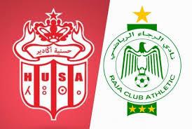 مشاهدة مباراة حسنية اكادير والرجاء الرياضى اليوم بث مباشر فى الدورى المغربى