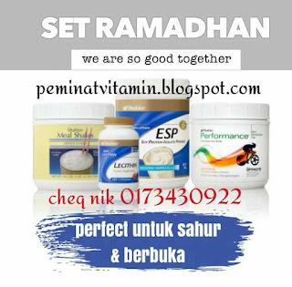 Set Sahur dan Puasa