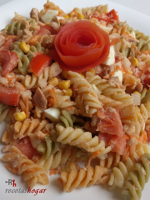 Deliciosa ensalada de pasta