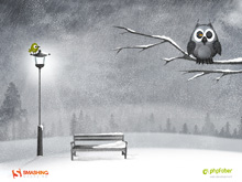 Desktop Wallpaper Calendar: February 2012 (Smashing Magazine)