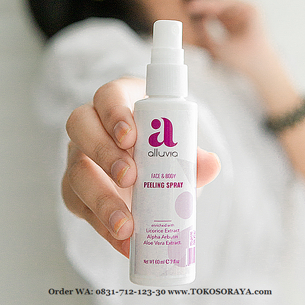 photo produk alluvia peeling spray