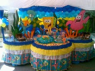 MyTotalNet.com: SpongeBob Children - Decorations For Childrens Parties's Parties Decoration