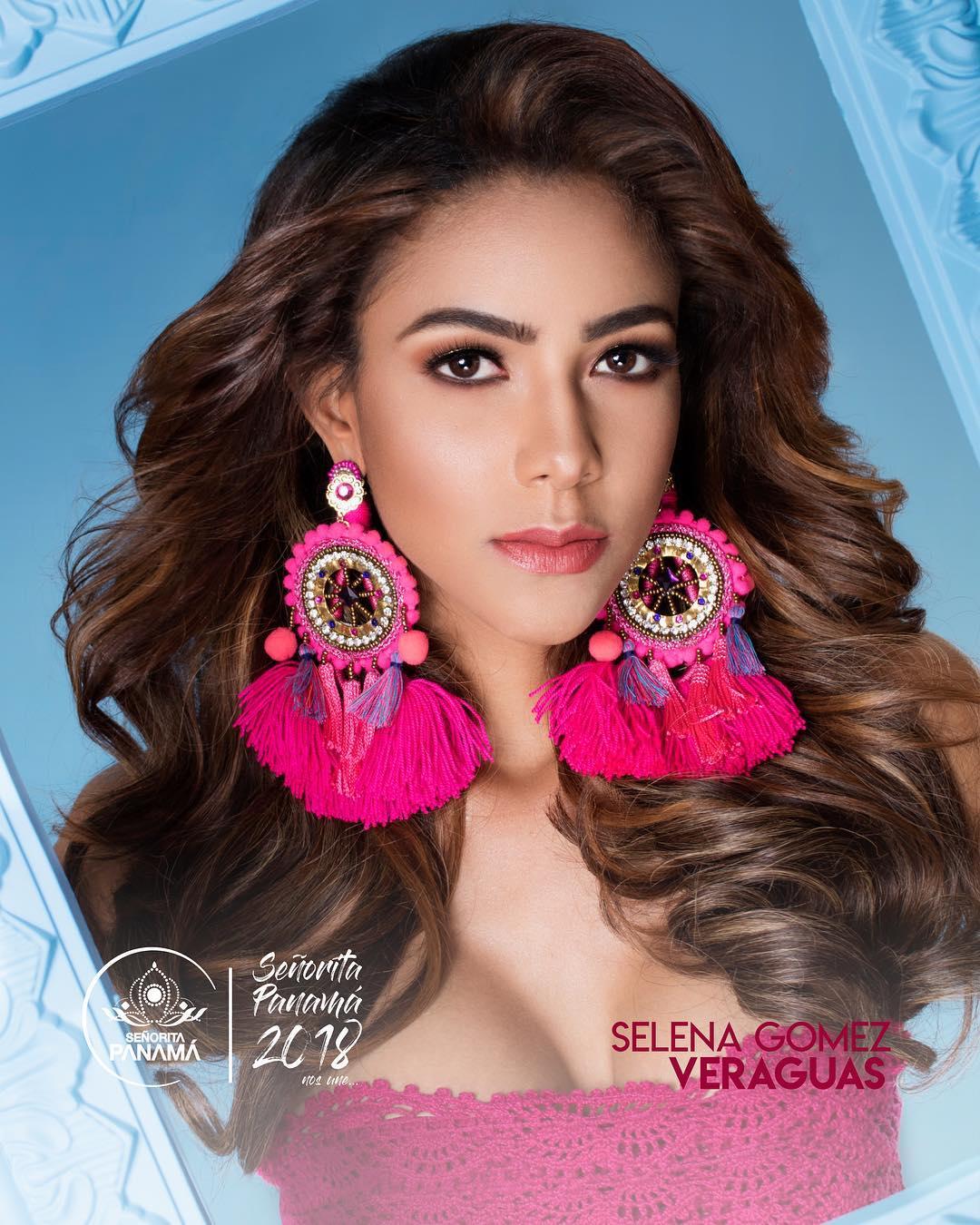 señorita miss colombia 2018 candidates candidatas contestants delegates Miss Veraguas Selena Gómez