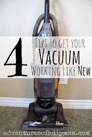 How to Fix your Vacuum - 4 Tips to get it working like new