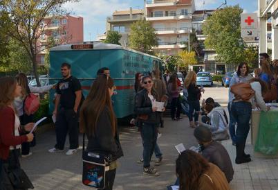 2η Εθελοντική Αιμοδοσία από την ομάδα BloodSharing του ΤΕΙ Αθήνας