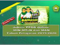 Juknis PPDB Online Madrasah Tahun Pelajaran 2019/2020