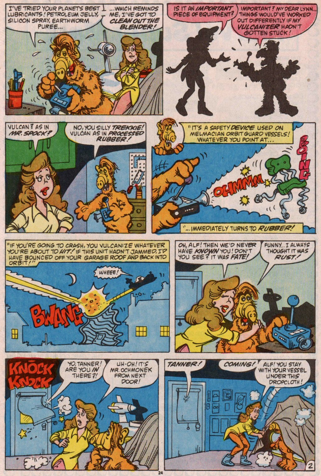 Read online ALF comic -  Issue #7 - 19
