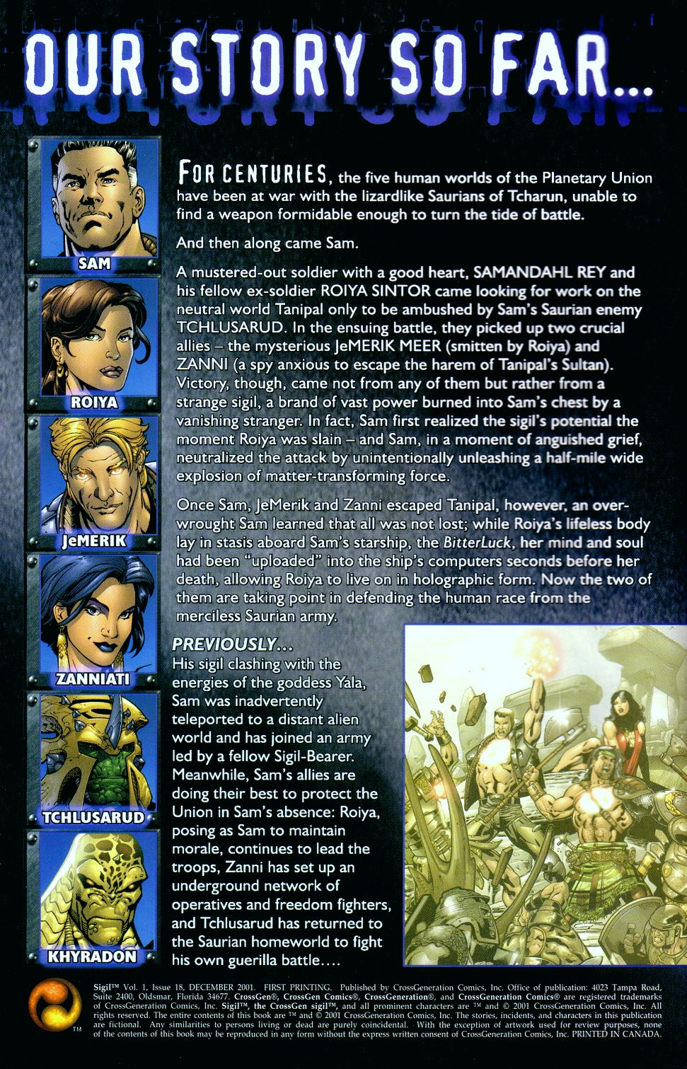 Read online Sigil (2000) comic -  Issue #18 - 2