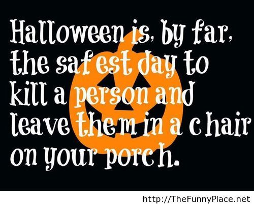 Halloween Day Funny Quotes