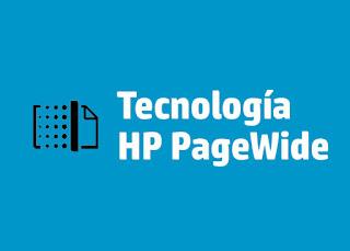 impresora HP con inyeccion de tinta y tecnologia pagewide