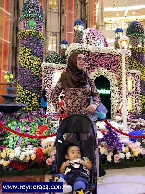 pameran bunga di pacific place Jakarta