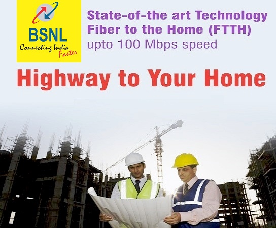 BSNL launched Free Monthly Rental Offer for FTTH ONT (Fiber Broadband Modem) for a period of six months in all the circles