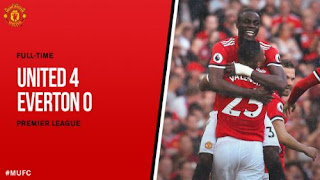 Video Gol Manchester United vs Everton 4-0