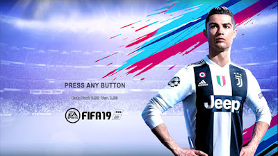PES 2013 Theme FIFA 19 New Graphic Menu