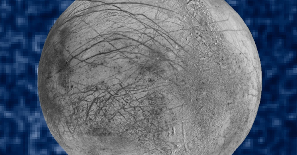 Probabili getti di vapore acqueo dalla superficie della luna di Giove Europa, by Hubble!