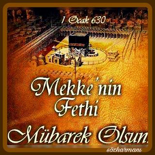 1 ocak 630, hz. muhammed, islam tarihi, kâbe, mekke'nin fethi, resimli mesajlar, hudeybiye antlaşması, ebu süfyanın müslüman oluşu, putların yıkılması, hz muhammedin hayatı, siyeri nebi