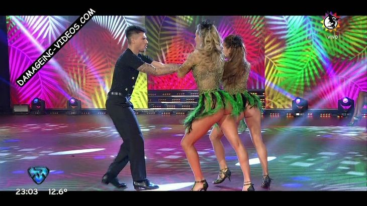Barby Silenzi and Micaela Viciconte hot legs and upskirts Damageinc videos HD