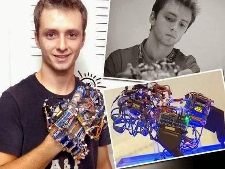 Ο Έλληνας φοιτητής που κέρδισε τον Ευρωπαϊκό διαγωνισμό για νέους επιστήμονες με την εφεύρεσή του