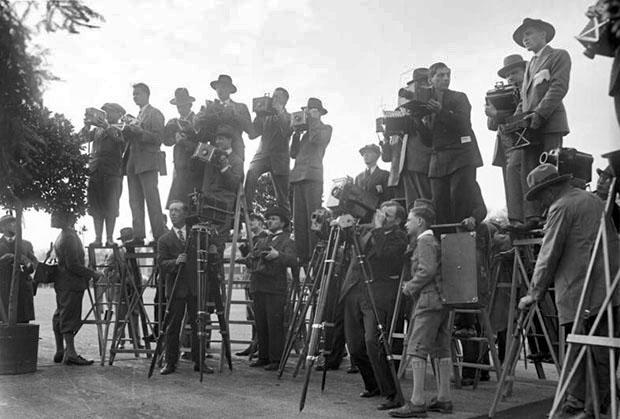 Первые фотожурналисты