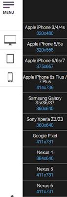 Pilihan Tampilan dari Smartphone
