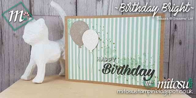 Stampin' Up! Birthday Bright & Balloon Bouquet Punch Mitosu Crafts Shop stampinup Online 2