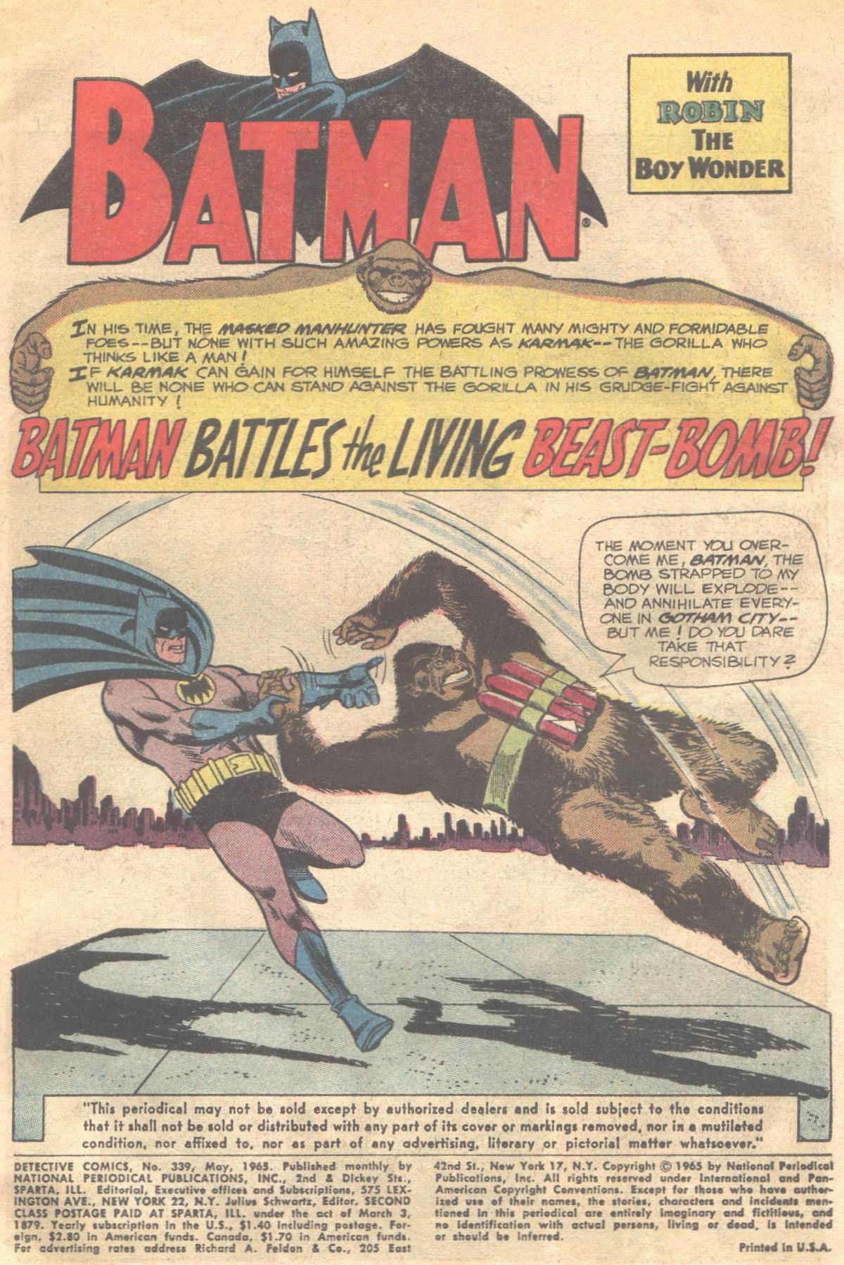Detective Comics (1937) 339 Page 2