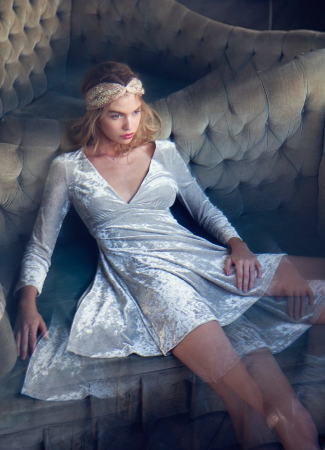Stella Maxwell – Urban Outfitters Holiday 2015 Campaign