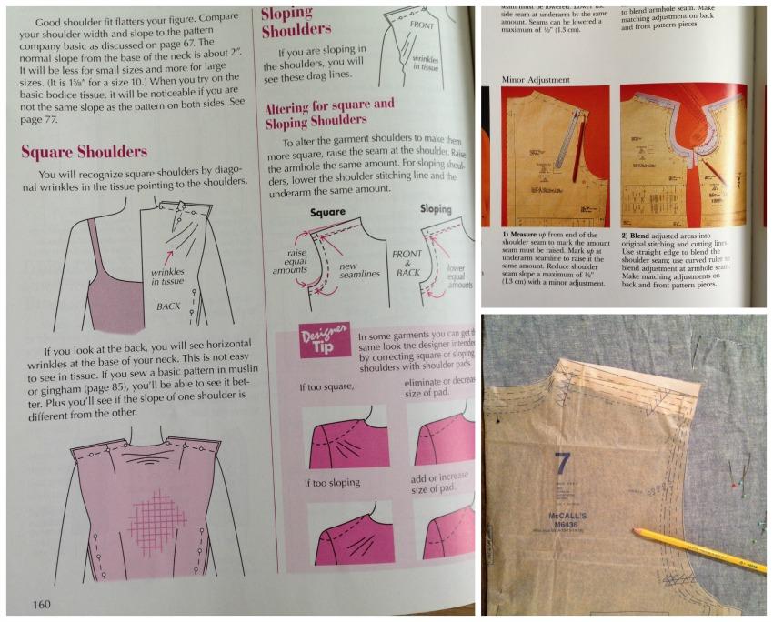 Liza Jane Sews Shirt Making Shoulder Fitting Blergh