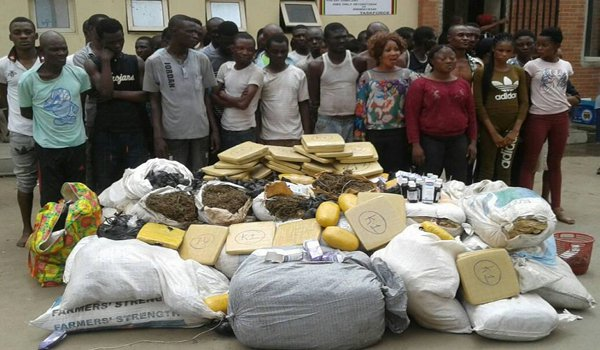 codeine drug seller arrested mushin lagos