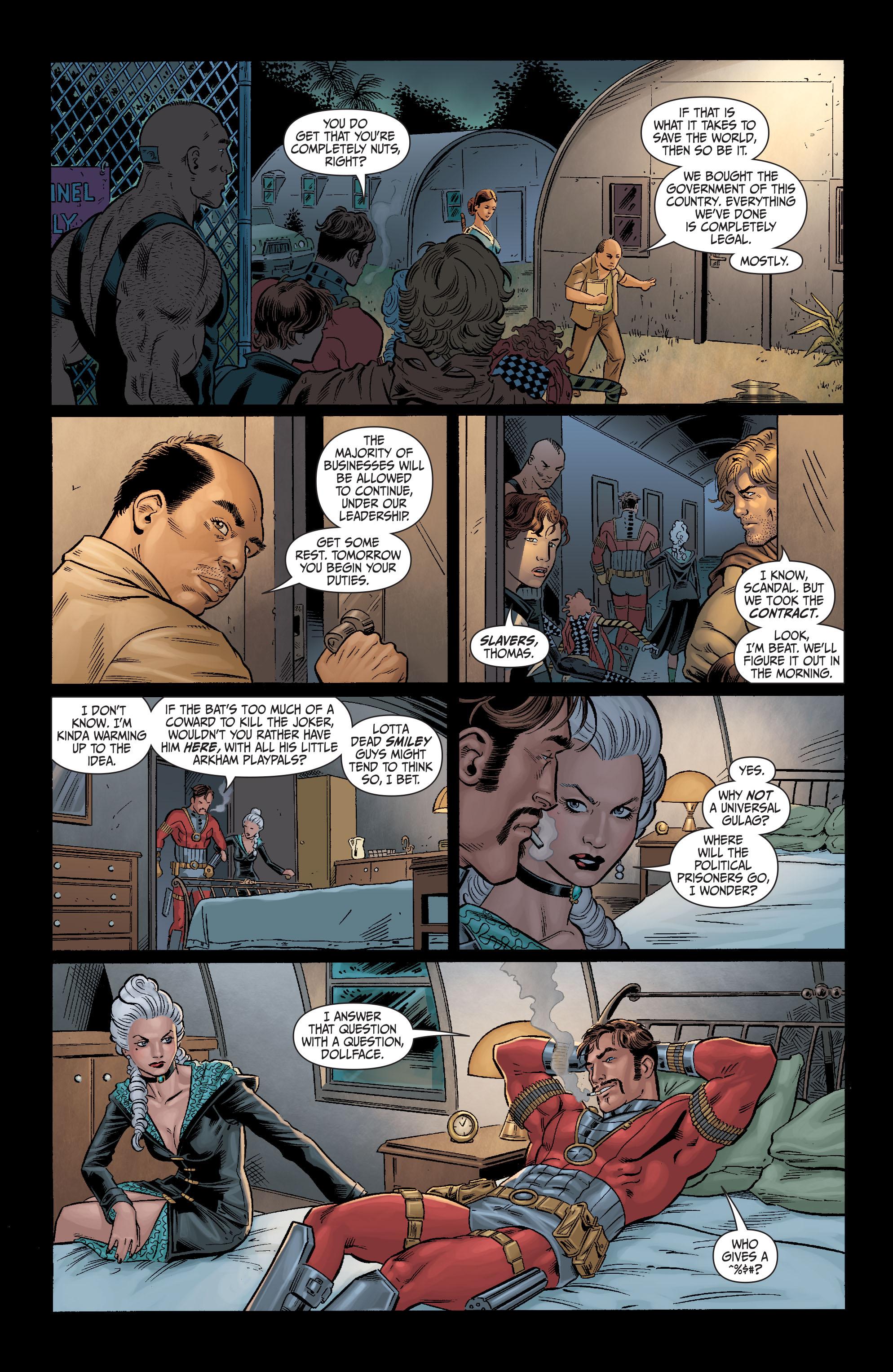 Read online Secret Six (2008) comic -  Issue #11 - 15