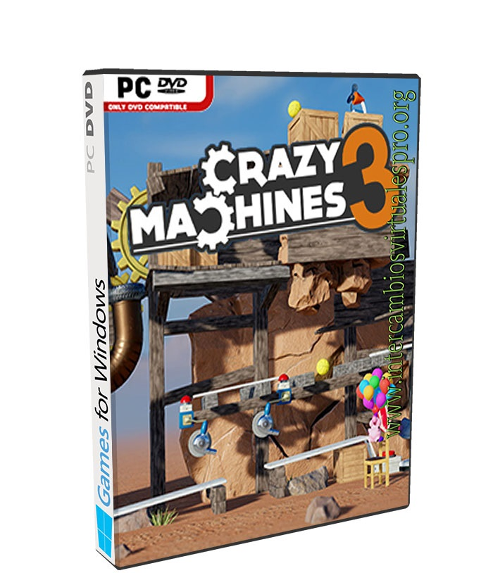 Crazy Machines 3 poster box cover