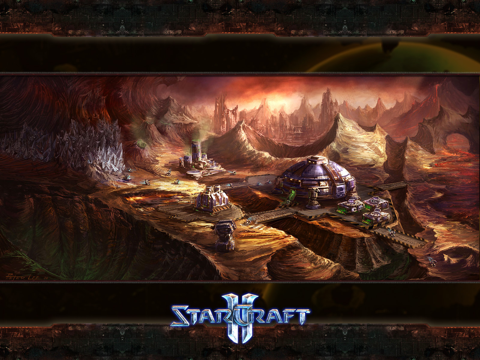 starcraft wallpaper hd11 Hd Wallpapers Starcraft 2