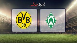 مشاهدة مباراة بوروسيا دورتموند وفيردر بريمن بث مباشر 04-05-2019 الدوري الالماني