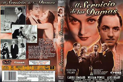 Carátula - Al servicio de las damas - William Powell