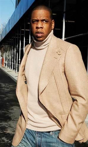 Foto de Jay-Z fuera de los escenarios