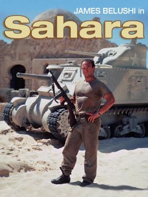 sahara film 1995 recenzja plakat james belushi