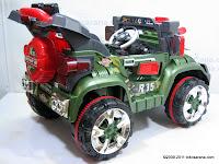 5 Mobil Mainan Aki Junior QX7566A Rocket Jeep