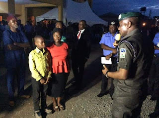Photos: IGP pays condolence visit to the family of ASP killed in Ariaria Market Police Division attack