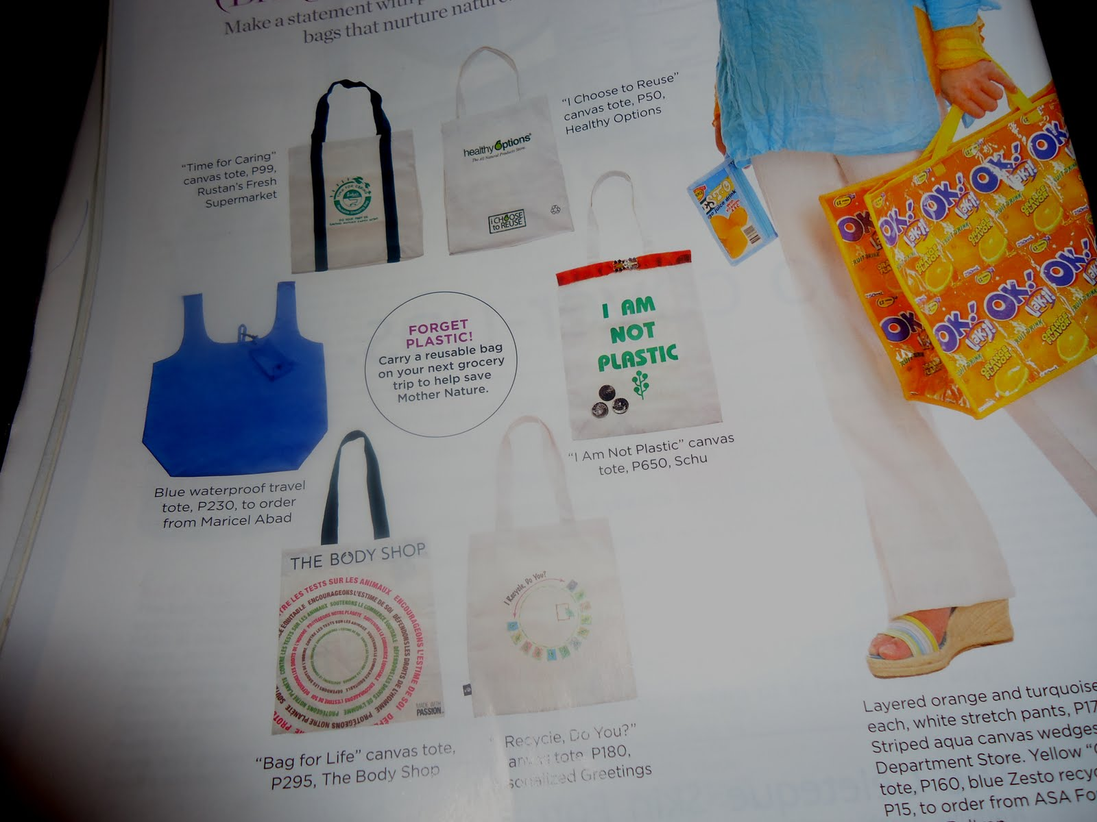 Life's Tips and Tricks: Getting Away With Plastic Bags