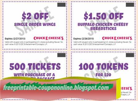 Free printable name brand coupons
