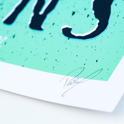Melvins Poster signature