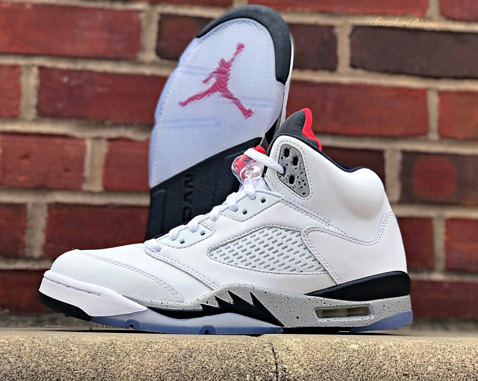 adc7718a397 Air Jordan Retro 5 White