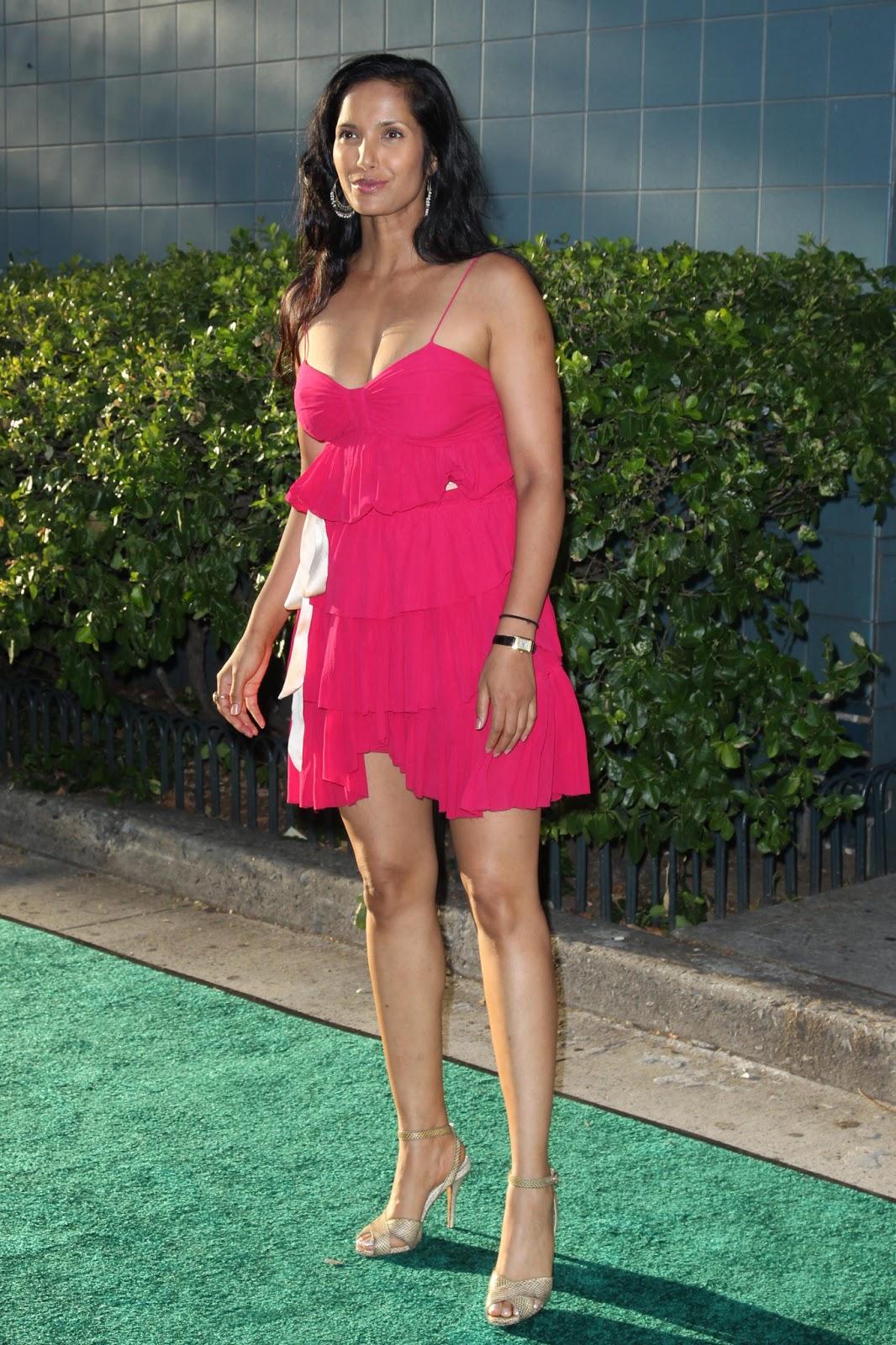 Indiske skuespillerinde Hollywood skuespillerinde Padma Lakshmi Hot Boobs-8968