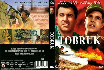 Carátula 2 - Tobruk - Rock Hudson - George Peppard