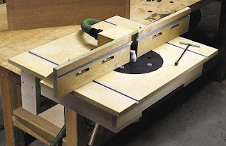 A router table you can make in your own shop
